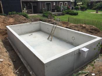 Aanbieding bouw zwembad Emmen