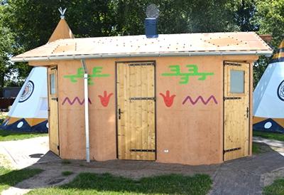 Onze sanitair units zijn standaard voorzien van toilet, wastafel en douche, en de vloer is voorzien van isolatie en vloerverwarming.